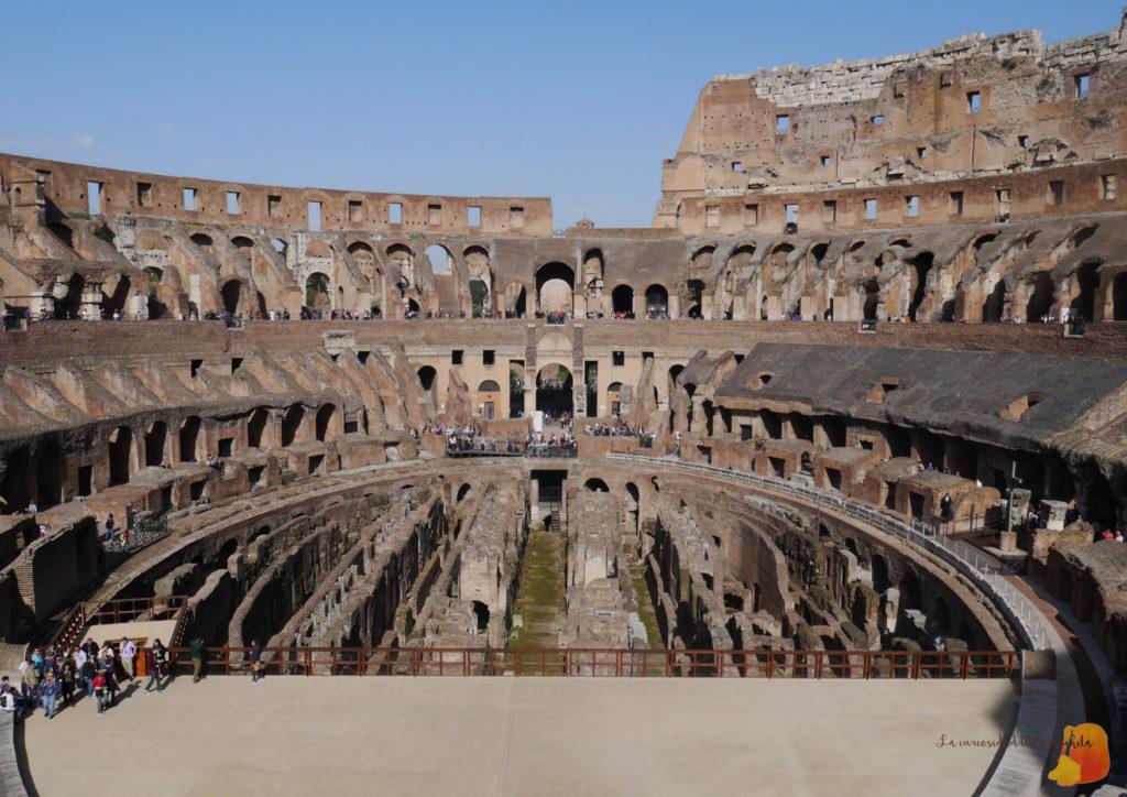 Interior del Coliseo