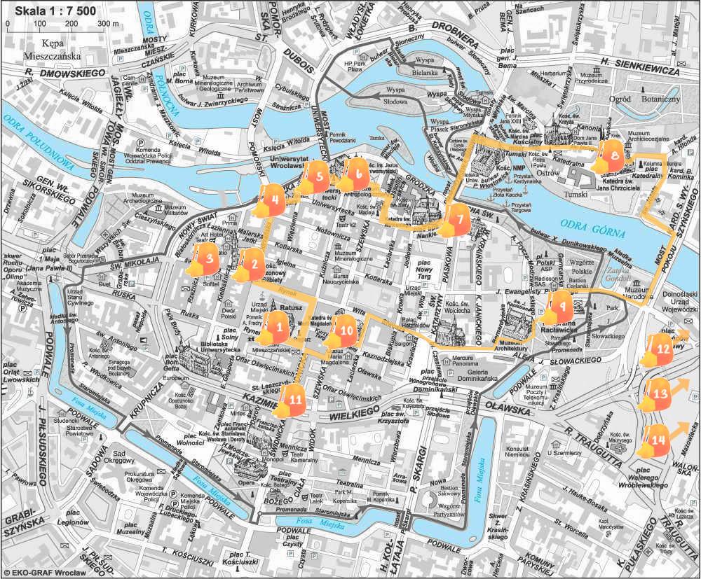 Mapa con nuestra ruta indicada