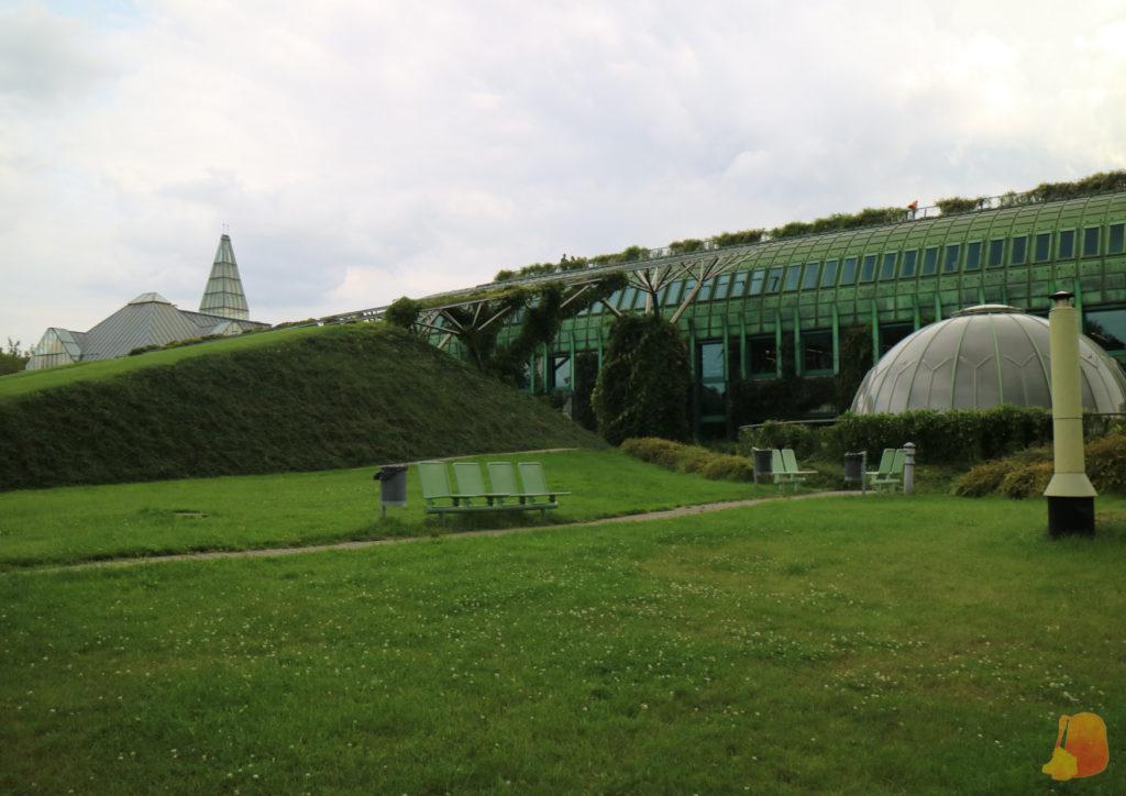 Jardín sobre el tejado