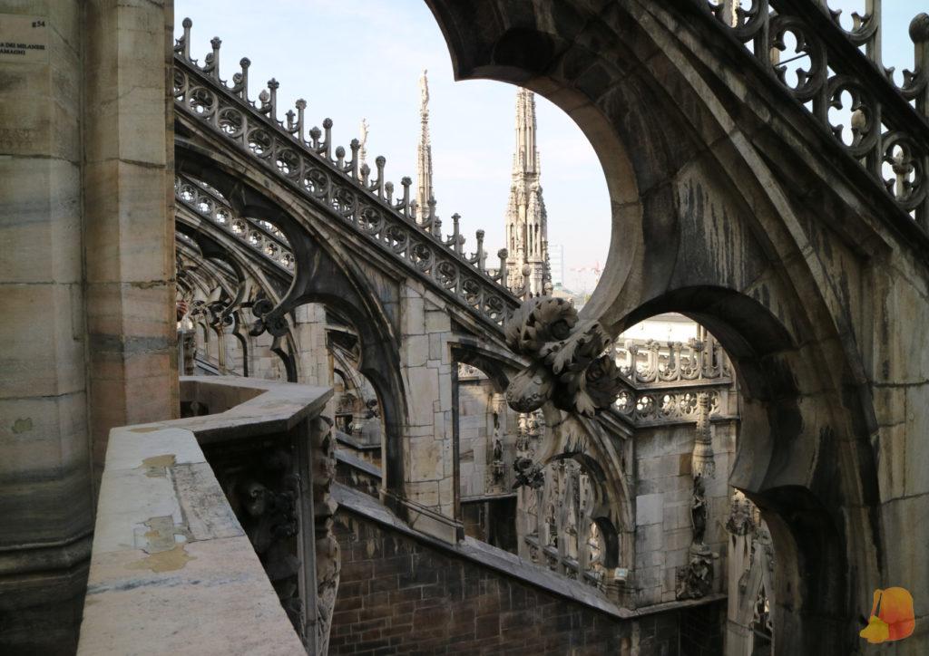 Arbotantes de la catedral