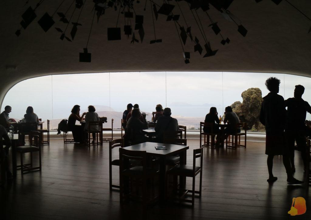 Cafeteria con vistas de la Graciosa