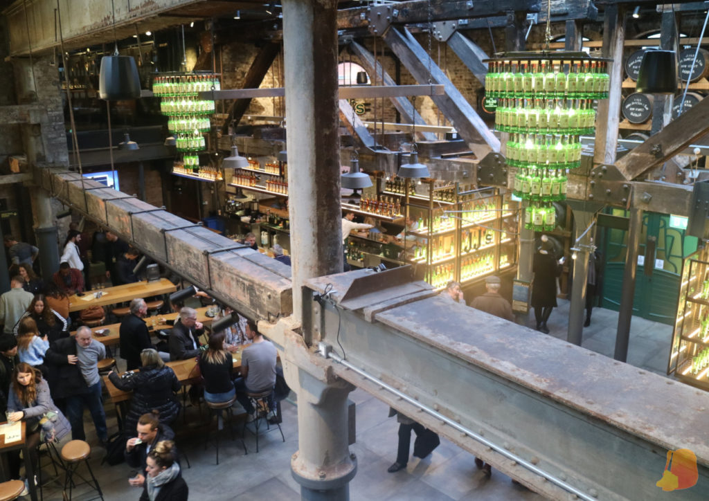 Bar de la Jameson Distillery