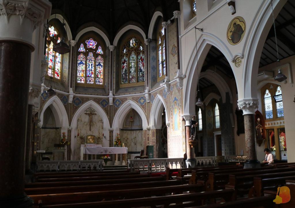 Interior de la Iglesia Dominicana de Tralee