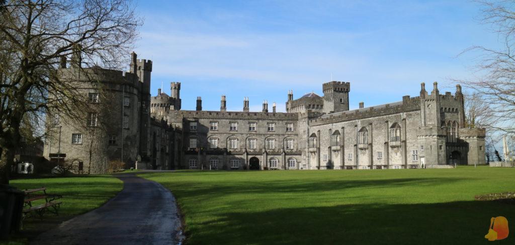 Fachada posterior del Castillo de Kilkenny