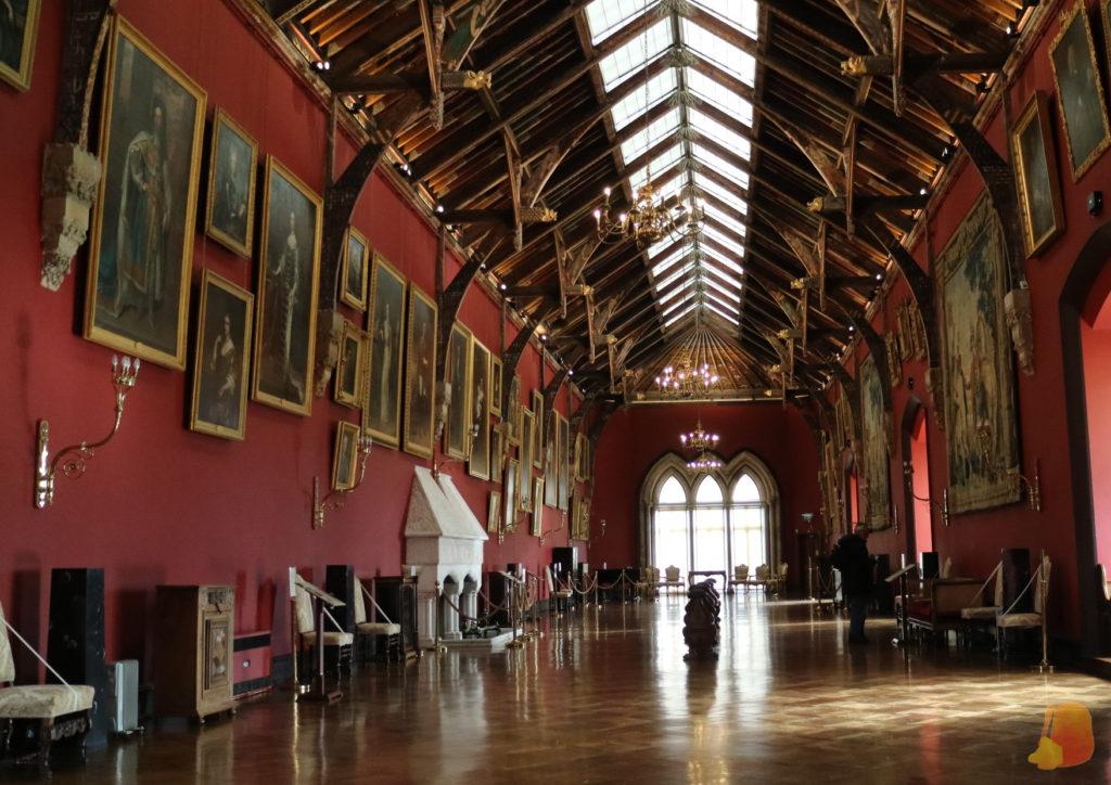 Sala de los retratos del Castillo de Kilkenny