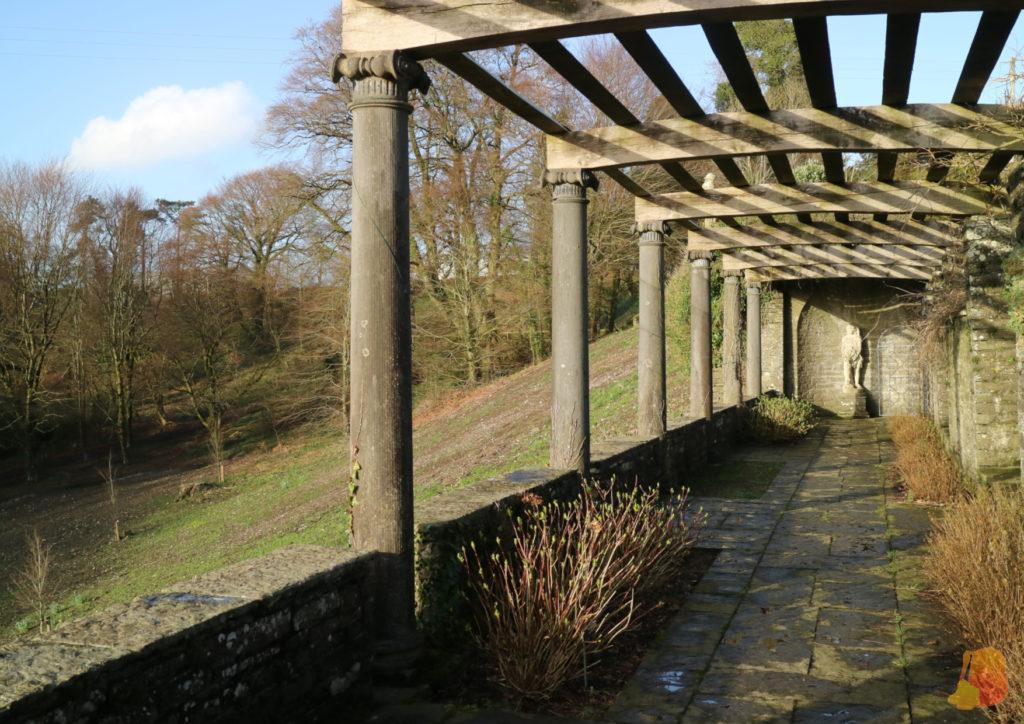 Terraza al parque de Heywood Gardens