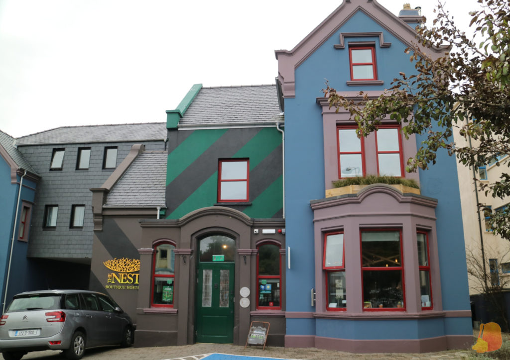 Fachada de The Nest Boutique Hostel, Galway