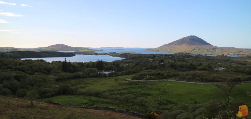 Vistas del Parque Nacional de Connemara