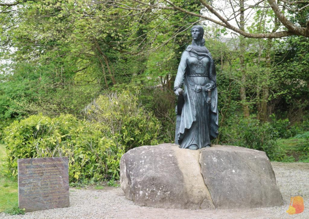 Estatua de Grace O'Malley