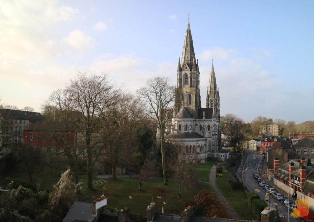 Vistas a la Catedral desde Elisabeth Fort