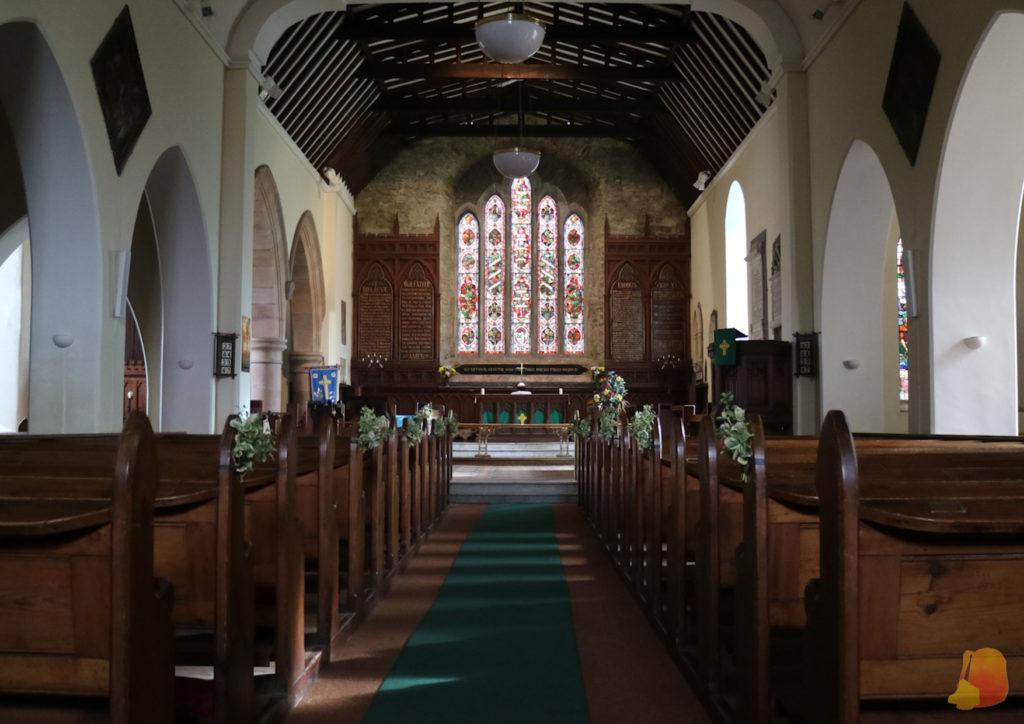 Interior de la Iglesia de San Multose
