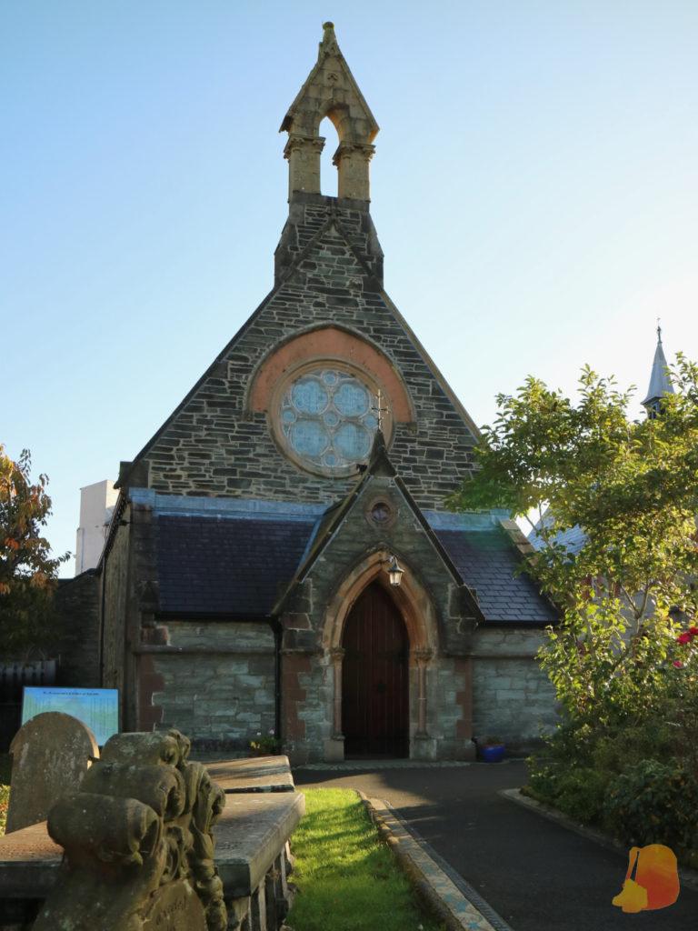 Iglesia de las San Agustinas por fuera