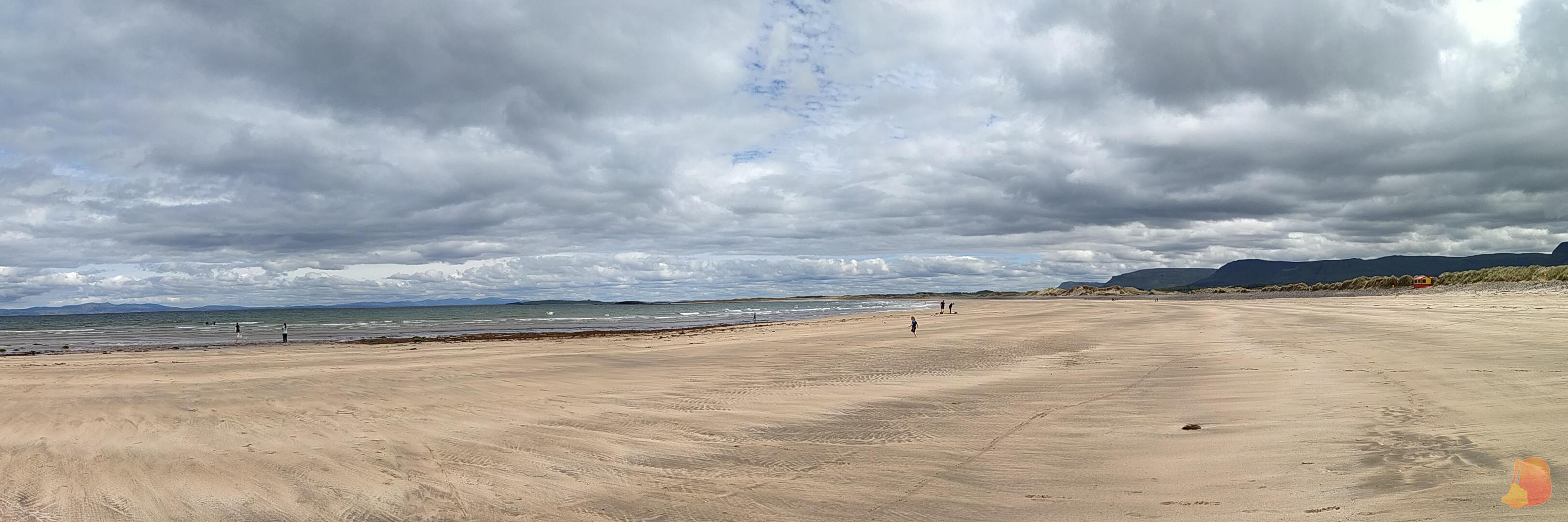 Panoramica de la Playa de Streedagh