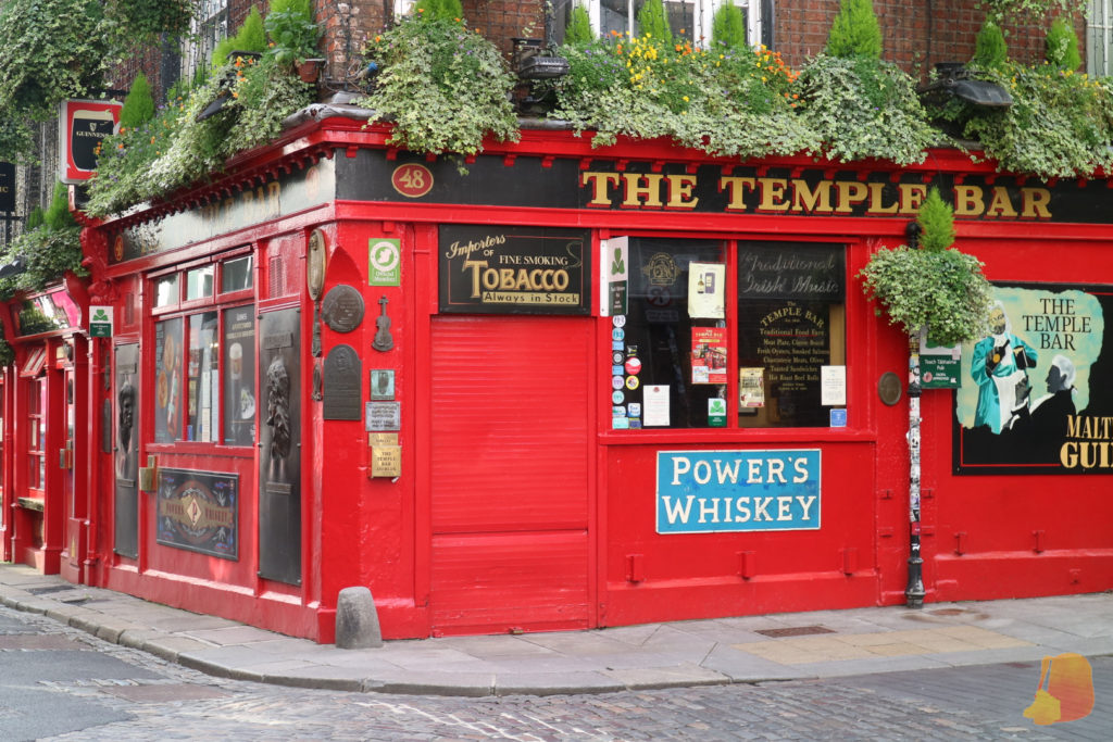 Fachada del pub Temple Bar