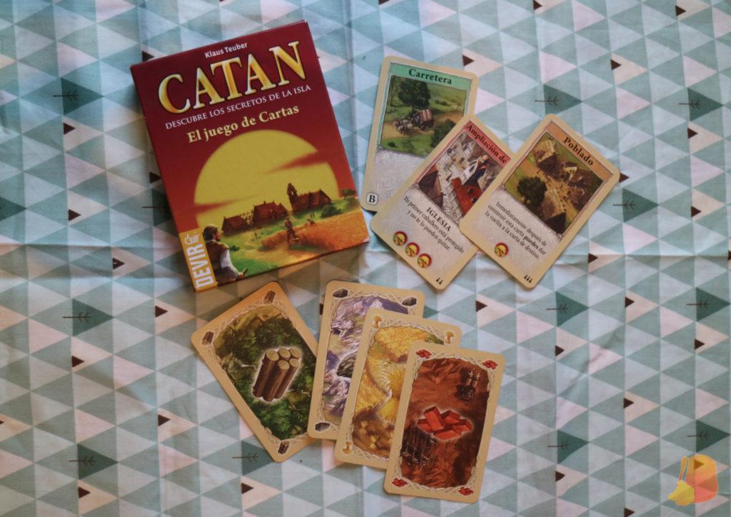 Versión del juego de mesa Catan de Cartas