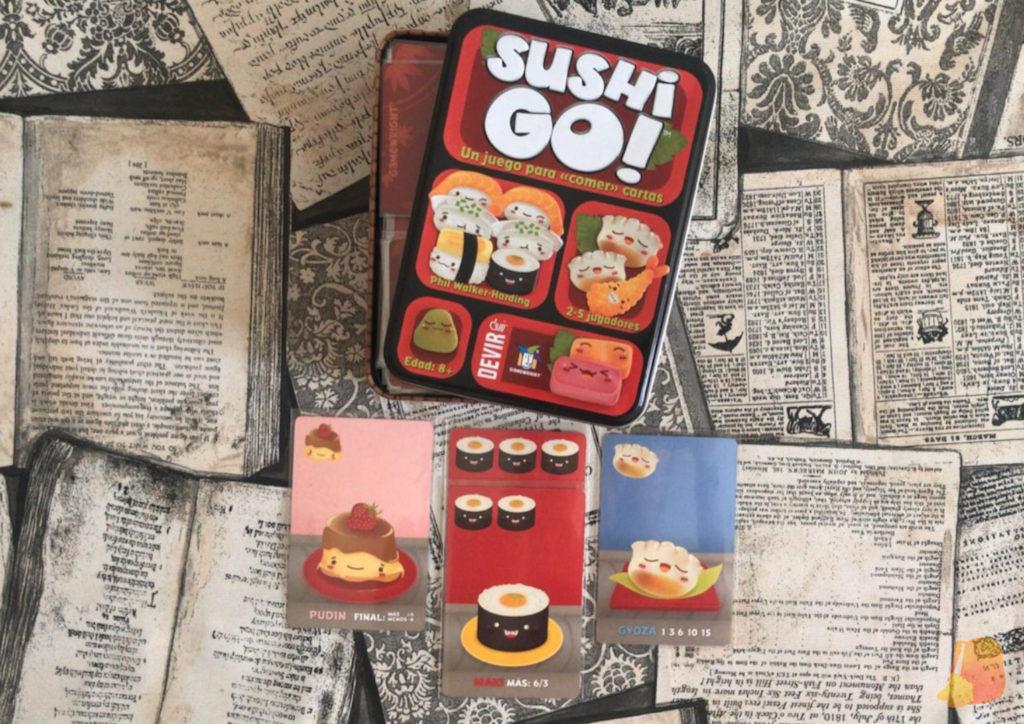 Juego Sushi Go
