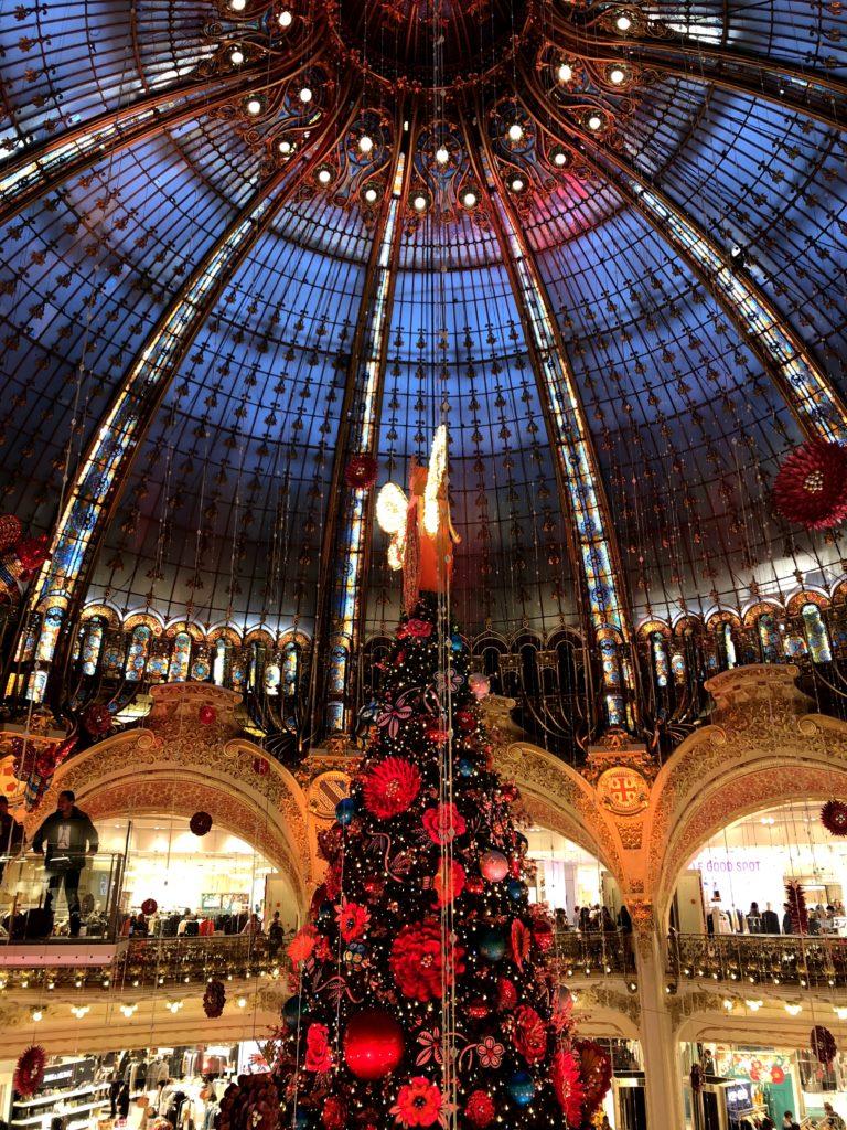 Arbol de Navidad de las Galerias Lafayette
