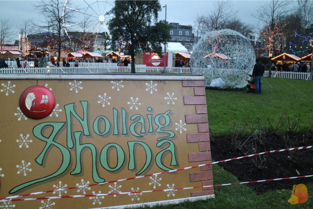 Nollaig Shona (Feliz Navidad en irlandés)